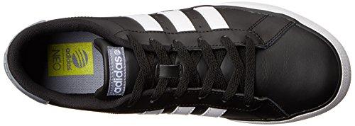 adidas NEO SE Täglich vulkanisierte Mode Sneaker Core Black / Laufendes Weiß / Grau