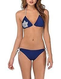Calhoun NHL Ladies Toronto Maple Leafs 2-Piece Bikini