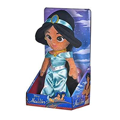 Posh Paws Disney Princess Jasmin Soft Doll in Gift Box - 25cm: Toys & Games