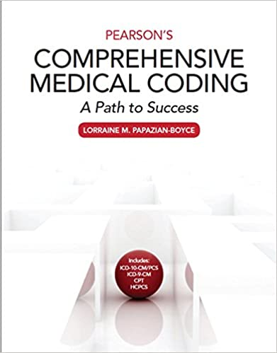 Pearsons comprehensive medical coding 9780133797787 medicine pearsons comprehensive medical coding 1st edition fandeluxe Images
