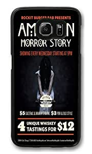 American Horror Story Seasons Polycarbonate Hard Case Cover for Samsung Galaxy S6 Black