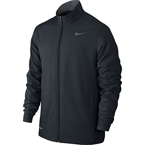 NIKE Men's Team Woven Jacket Black/Cool Grey Size Small