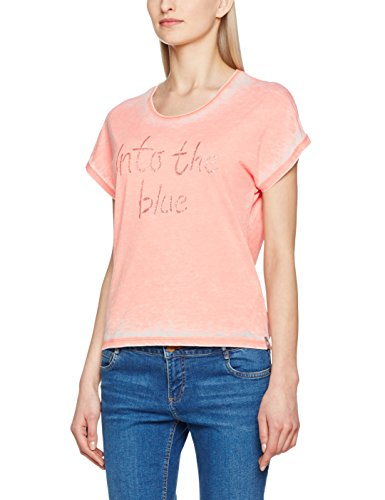 Freeman T Porter Ocelia Blue, Camiseta para Mujer Orange (Burnt coral F772)