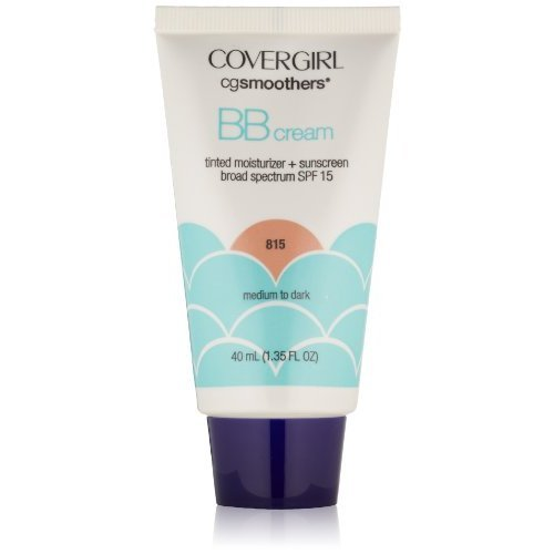 CoverGirl Smoothers SPF 15 Tinted Moisturizer, Medium To Dark 815, 1.35-Ounce Packages (Pack of - Cover Girl Moisturizer Spf 15