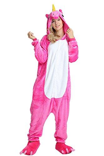 Unicorno Pigiama Donne Adulto Mystery amp;melody Rose Natalizi Animali Arcobaleno Costume Per Bambine 8w8qtBax