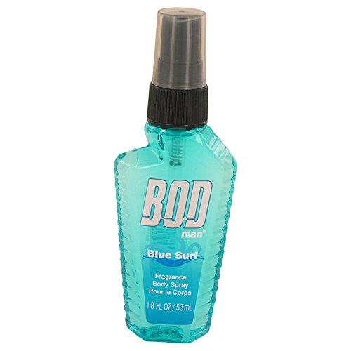 Bod Man Blue Surf by Parfums De Coeur Body Spray 1. 8 oz