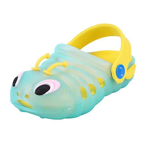 Sandalias niña niño Verano Riou Linda de Dibujos Animados Playa Sandalias Zapatillas Flip Zapatos Antideslizante Bebe…