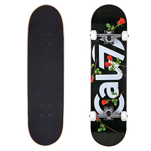 - Cal 7 Complete Skateboard, Popsicle Double Kicktail Maple Deck, Skate Styles in Graphic Designs (8