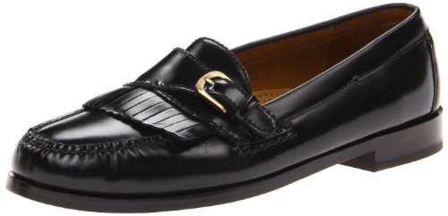 Cole Haan Men's Pinch Buckle Loafer, Black, 8 E US