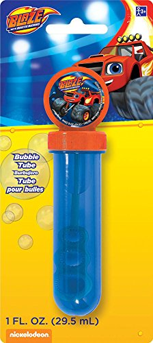 Blaze and The Monster Machines Bubble Tube | Party Favor | 1 oz.