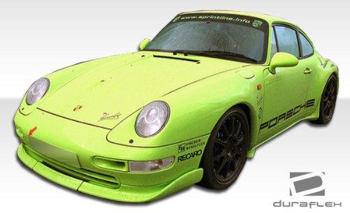 Amazon.com: Duraflex 1995-1998 Porsche 911 Carrera 993 C2 C4 Targa Club Sport Front Lip Under Spoiler Air Dam - 3 Piece: Automotive