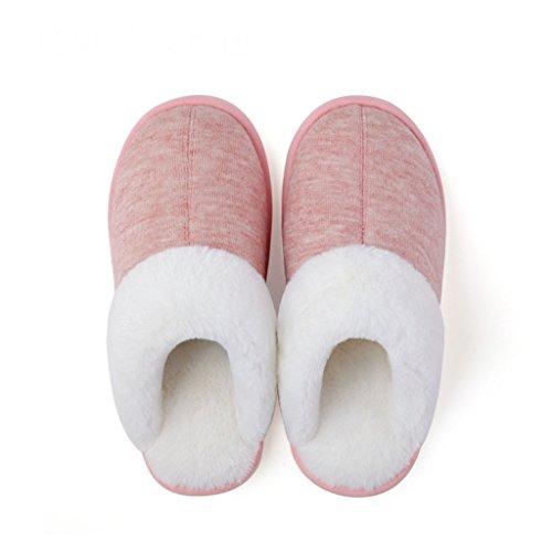 3 Pattern Chaussures Pantoufles Feuillet Antidérapant Les De Femmes Intérieur Épais Hiver Dww Maison Chaussons Coton Amateurs vZPx6OPnH