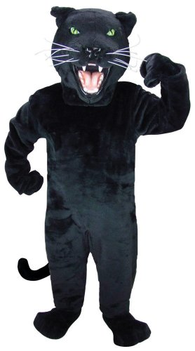 [Black Panther Mascot Costume] (Panther Costumes)