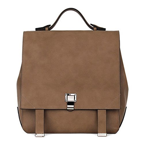 VF P909 Simple Backpack Taupe-Beige by Violett-Backpacks