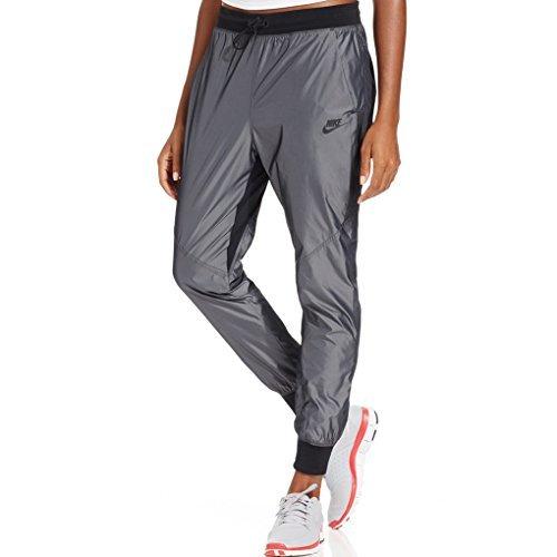 Nike Long Sleeve Body - Nike Women's Woven T2 Training Pants, Deep Pewter (Medium)