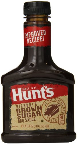 Hunt's Bold BBQ Sauce, 18 Oz. (Pack of (Hunts Barbecue Sauce)