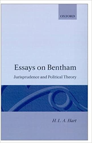 essays on bentham jurisprudence and political theory h l a  essays on bentham jurisprudence and political theory h l a hart 9780198253488 com books