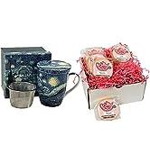 Erika's Tea Room Artist Series Tea amp; Scone Gift Box- Unique English Style Scones
