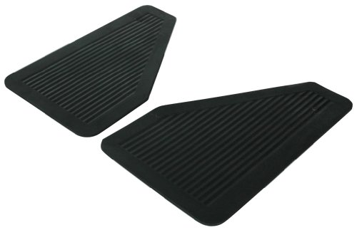 Highland 1057700 Black Heavy Duty Rubber Splash Guard  - 2 Piece