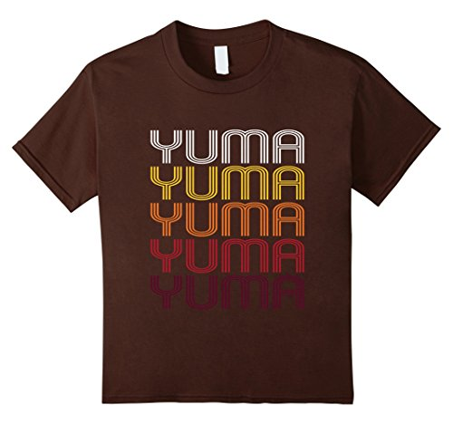 Kids Yuma, CO | Vintage Style Colorado T-shirt 10 - Yuma Kids