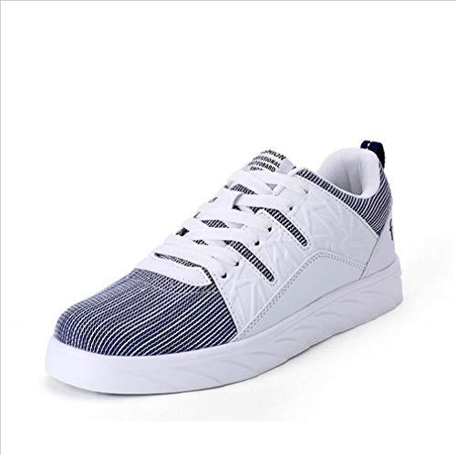 Exing Damenschuhe Neue Liebhaber Mode Deck Schuhe/Wilde Atmungsaktive Low-Top Sneaker/Unisex Lace-up Flache Schuhe / C