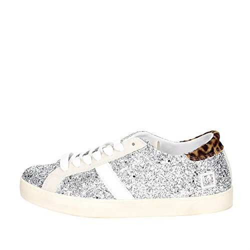 1E D Low Silver E Hill T A Women Sneakers LOW Zqr6qXgw