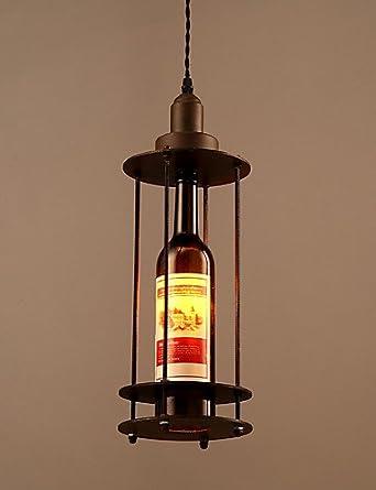 yancui @ American campo Retro botellas de metal lámpara de ...