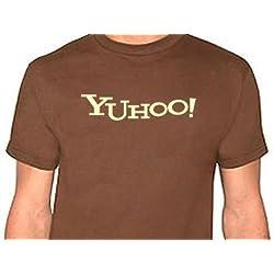 Yuhoo - Yahoo - con scritta in inglese, taglia XL