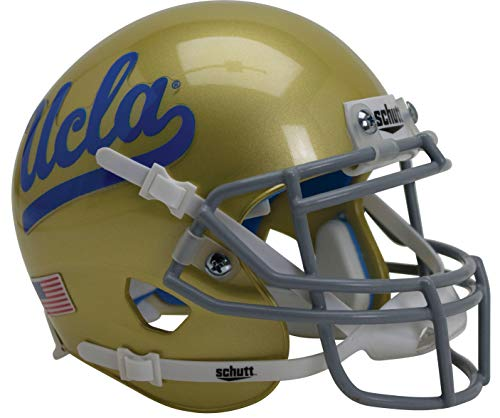 (Schutt NCAA Mini Authentic XP Football Helmet, UCLA Bruins)