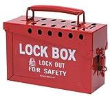 Brady 262-65699 13 Lock Group Lock Box Red