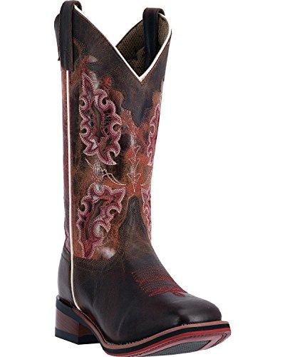 Laredo Kvinna Isla Cowgirl Boot Fyrkantig Tå - 5645 Brun