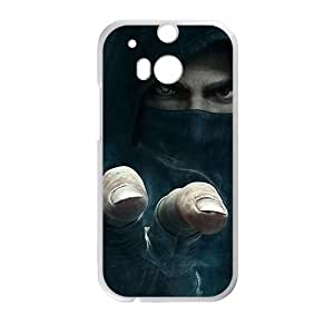 Happy Assassin's Creed Phone Case for HTC One M8 case