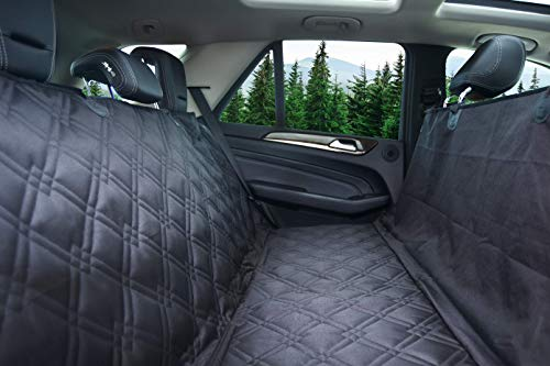 Bulldogology Premium Dog Car Seat Covers - Heavy Duty Durable Quality for Cars, Trucks, Vans, and SUVs (X-Large, ()