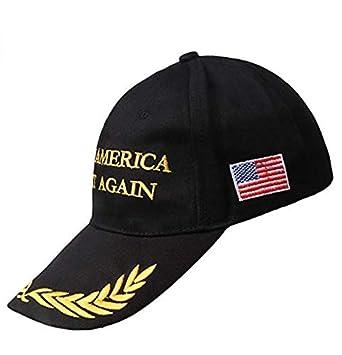 Make America Great Again Hat Black Donald Trump USA MAGA Cap Adjustable Baseball Hat