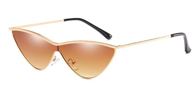 KINDOYO Gafas de sol de ojo de gato de moda de mujer, gafas ...
