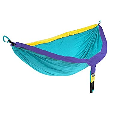 Eagles Nest Outfitters - DoubleNest Hammock, Yellow/Teal/Purple