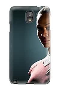 First-class YY-ONE For Galaxy Note 3 Dual Protection Cover Zoe Saldana As Uhura In Star Trek
