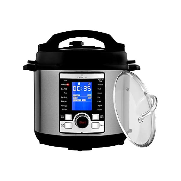 ChefWave Swift Pot 10-in-1 Programmable Multi Cooker with Accessories 1