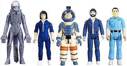 Alien Super 7 ReAction Ripley, Dallas, Kane, Ash and Alien Action Figure 5-Pack