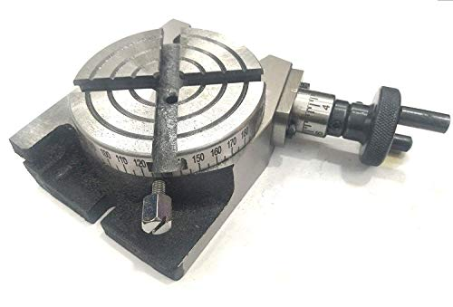 New 4″ Inches (100 mm) Quality Regular Rotary Table for Milling Machines