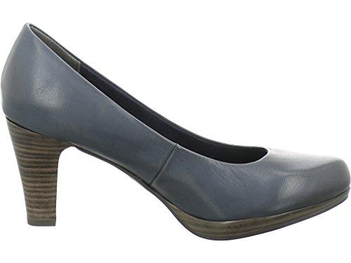 Marco Tozzi Women's Court Shoes blue blue GNH4f7