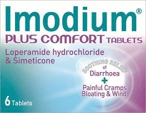 Imodium Confort Plus (6 comprimés)