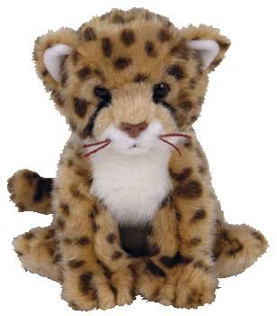 Amazon Com Ty Beanie Baby Chitraka The Cheetah Internet