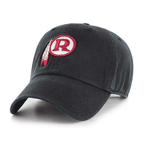 Washington Redskins Hats - OTS NFL Washington Redskins Legacy Challenger Adjustable Hat, One Size, Black