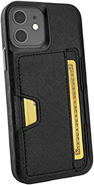 Smartish iPhone 12/12 Pro Wallet Case - Wallet Slayer Vol. 2 [Slim Protective Kickstand] Credit Card Holder (S