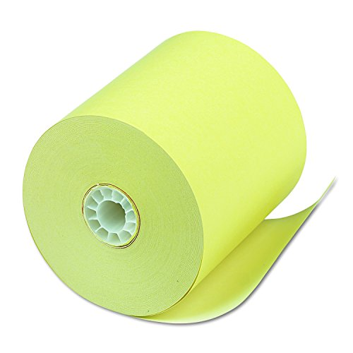 PM Company Perfection POS Canary Thermal Rolls, 3.125 Inches x 230 Feet, 50 Rolls per Carton (05214C) by PM Company