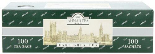 Ahmad Tea Earl Grey Tea, 100 Enveloped Teabags, 7-Ounce Packet (Pack of 3) ()