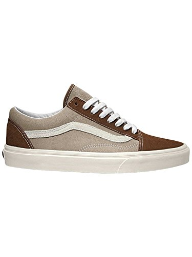 Vans U Old Skool - Zapatillas, Unisex Adulto GHIACCIO-MARRONE