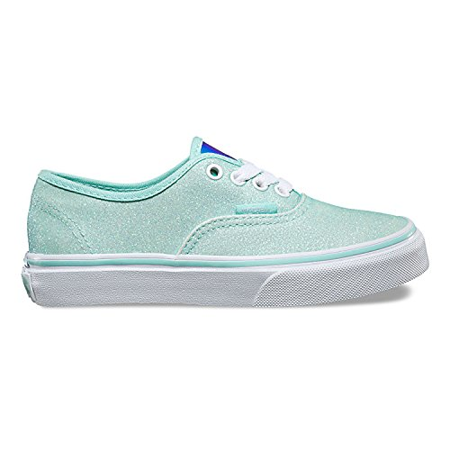 UY Vans True Glitter Authentic amp; White para Blue Zapatillas Niñas Iridescent 7qwZqad
