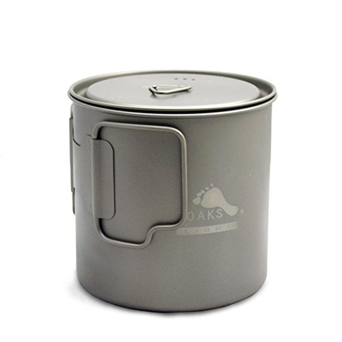 TOAKS LIGHT Titanium 650ml Pot